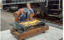 Load image into Gallery viewer, THE TRACKSIDE - DESIGNER SERIES FIRE TABLE