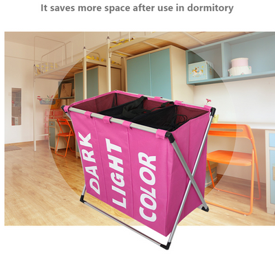 Laundry Sorter 3 Section