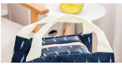 Canvas Insulated Lunch Bags