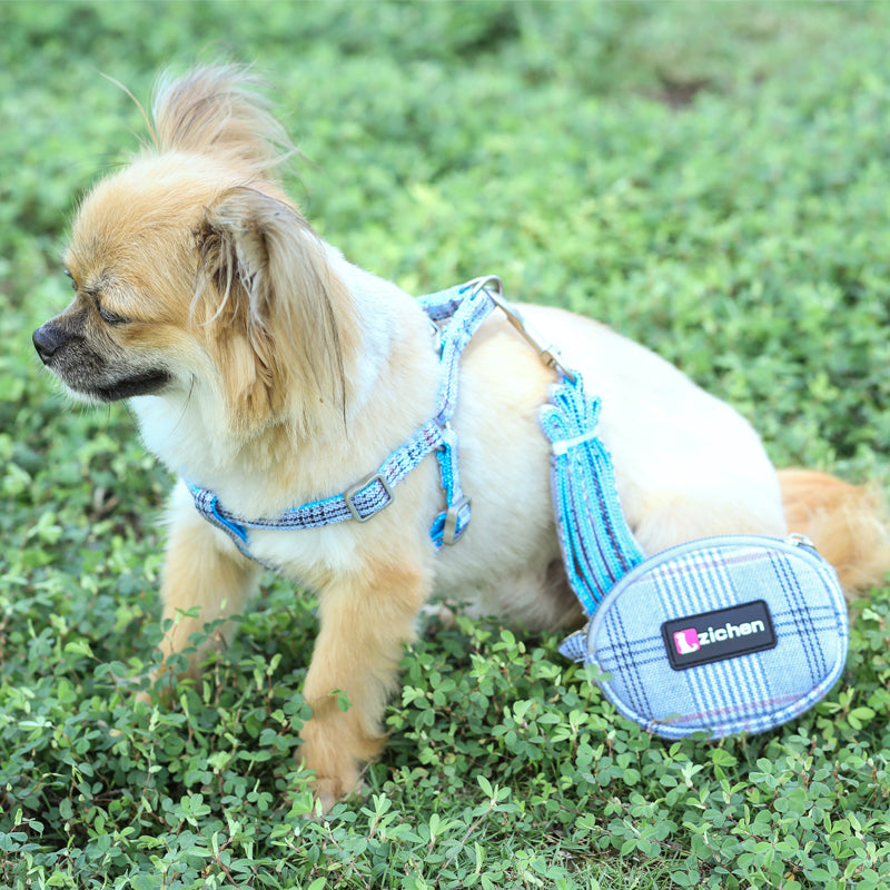 Easy Walk Dog Harness With Purse