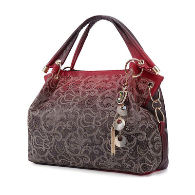 Sparkle Elegant Carve Handle Bag