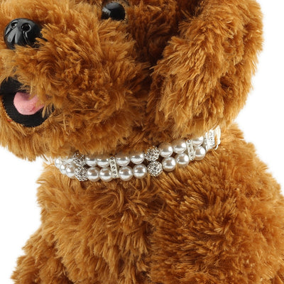Diamond Pearl Luxury Dog Collars