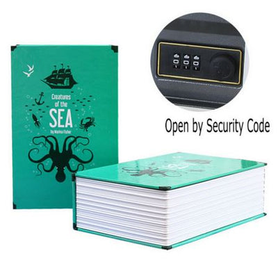 Hidden Secret Book Safe Box