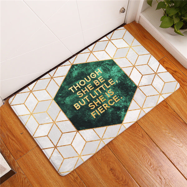 Funny Quotes Welcome Mat