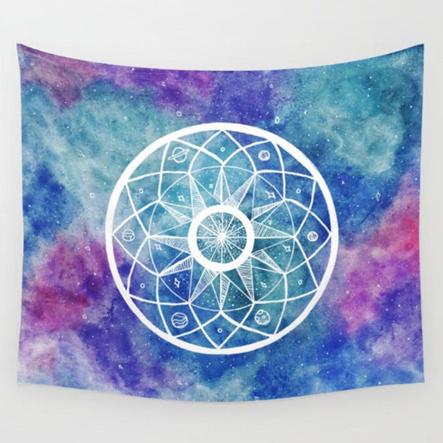 Vivid Tapestry Wall Hanging Decoration