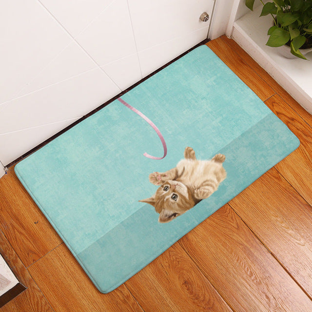 Cute Animal Welcome Mat