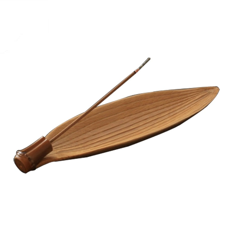Bamboo Incense Stick Holder