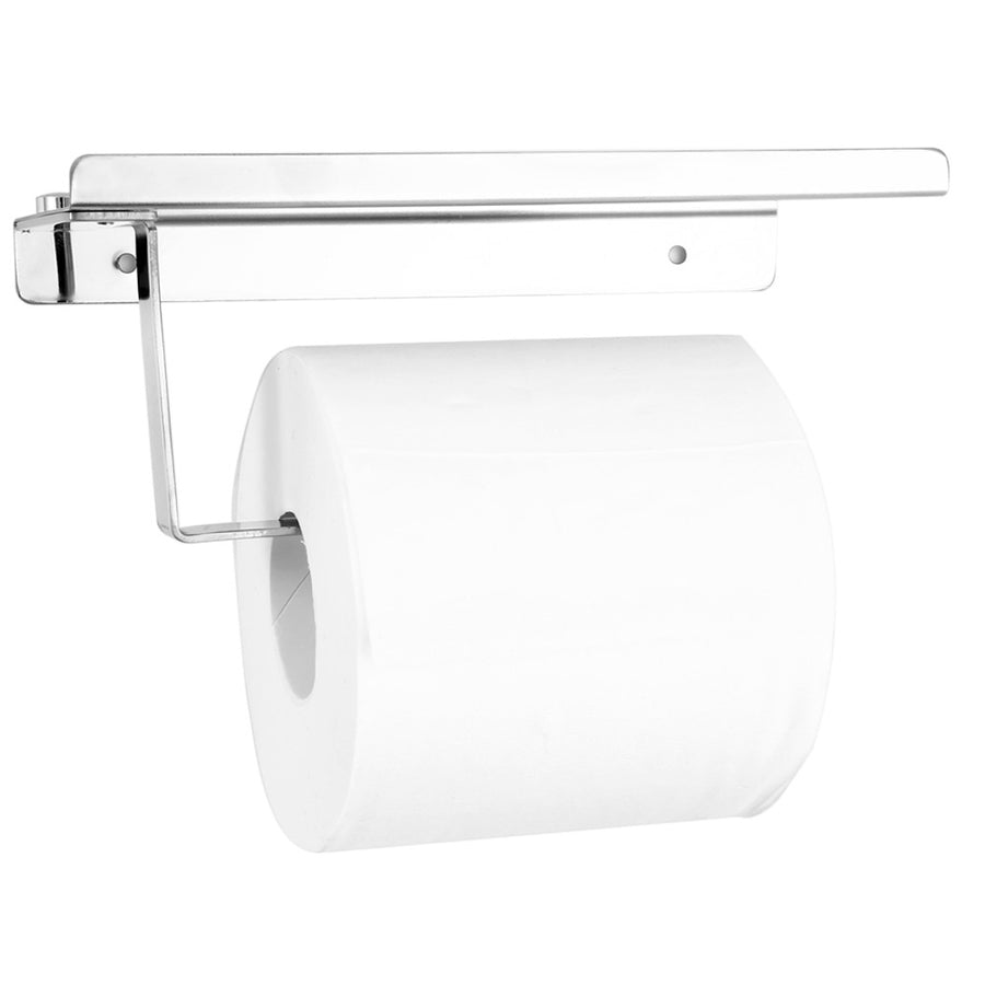 Toilet Tissue Holder with Shelf