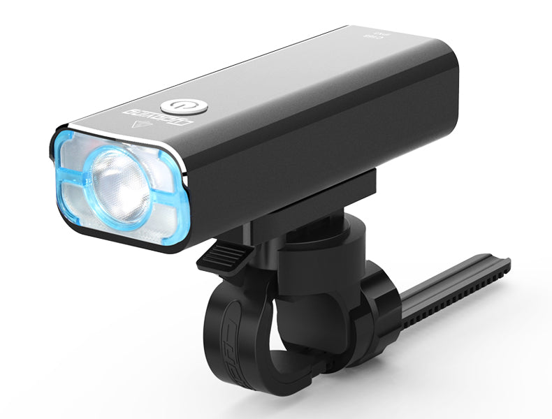 1200Lm LED Bike Front Light w/ Tail Light Set