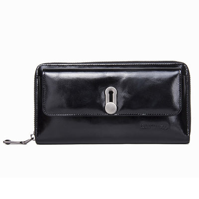 Slick Zip Around Wallet