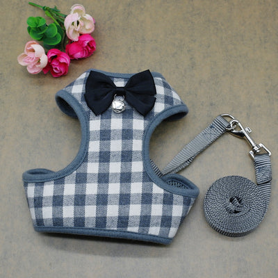 Dog Harness Vest and Leash Set