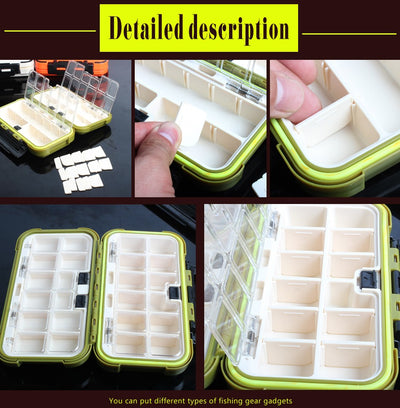 24 Compartment Fishing Tackle Box
