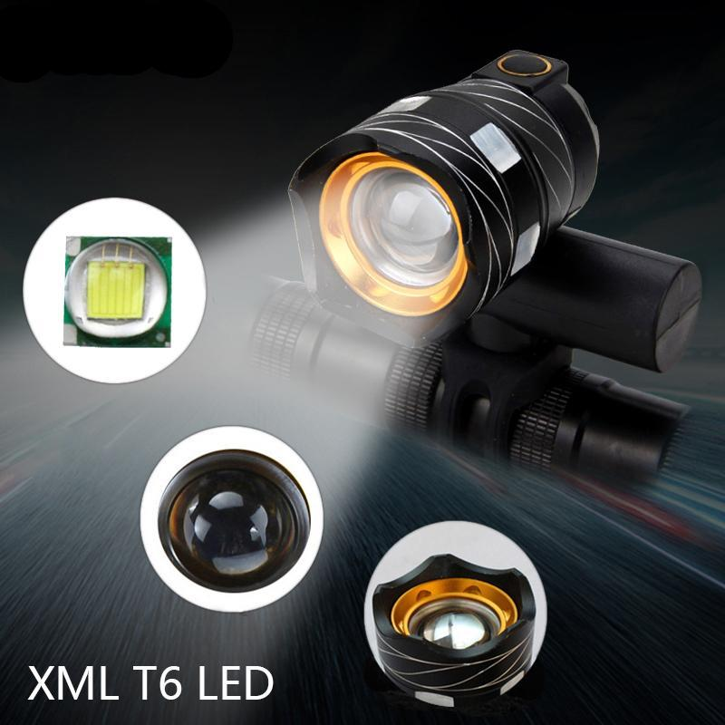 Zoomable Bicycle Headlight 15000Lm