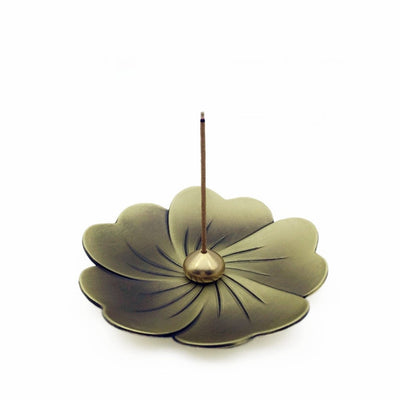 Metal Sakura Incense Burner