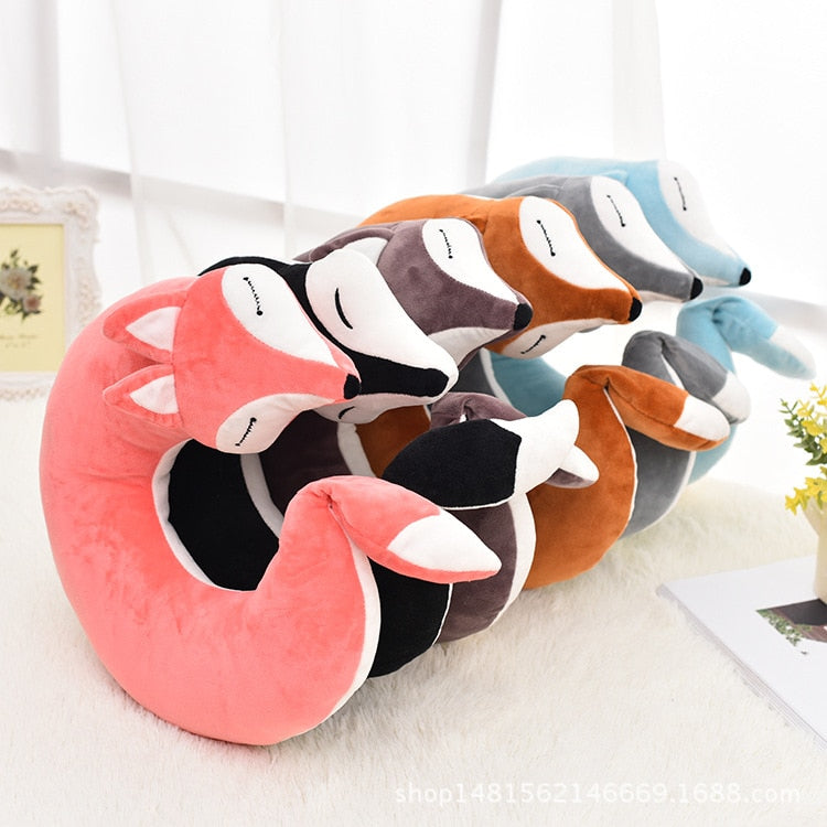 Fox Travel Neck Pillow