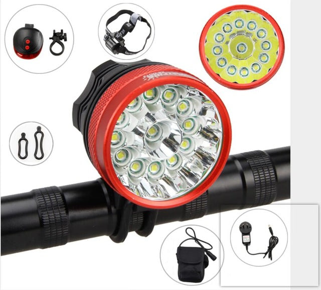 Super Bright Bicycle Lights 25000 LM