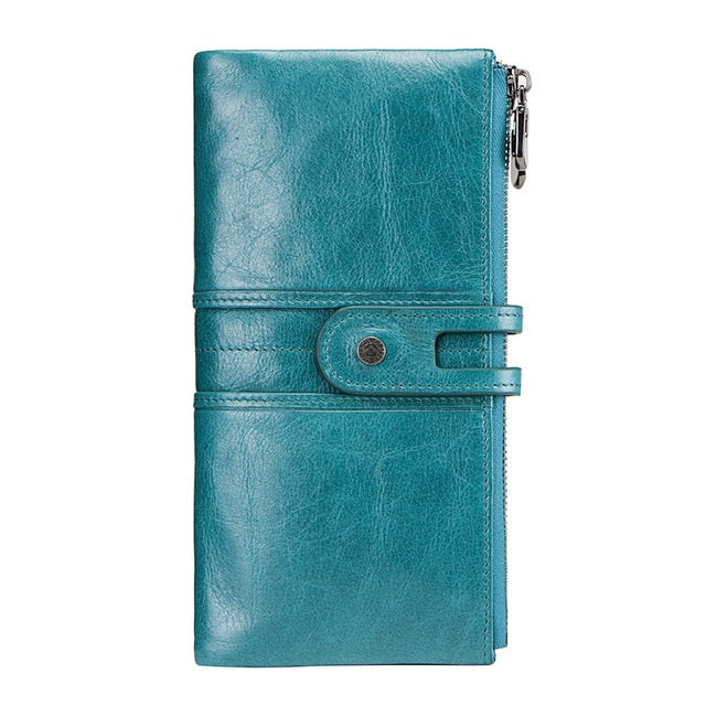 Zipper Wallet With Phone Holder