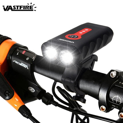 Waterproof Rechargeable Bicycle Light 1800LM