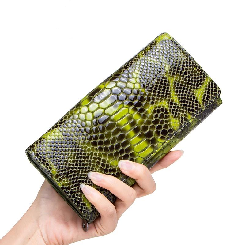 Novel Snakeskin Wallet