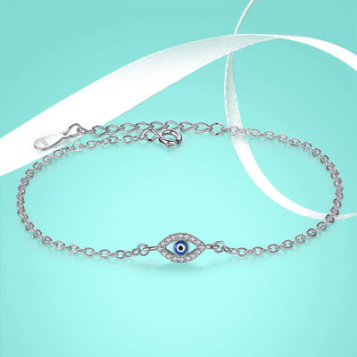 Lucky Evil Eye Chain Bracelet