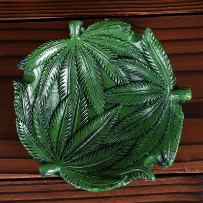 Jamaica Leaf Cigarette Ashtray
