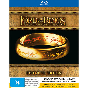 Lord Of The Rings Trilogy, The (Extended Edition)