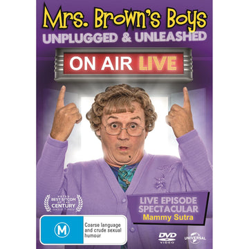 Mrs Brown's Boys: On Air Live - Unplugged & Unleashed