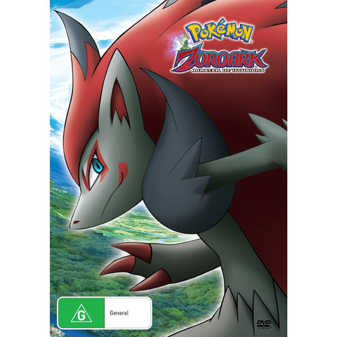 Pokemon Movie 13 Zoroark The Master Of Illusion Jb Hi Fi