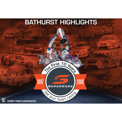 Image of V8 Supercars - The First 10 Years Bathurst Highlights
