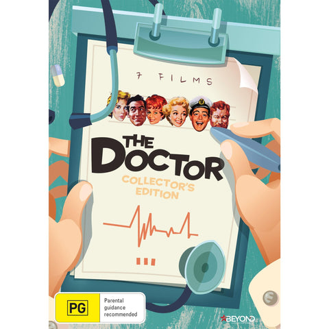 Image of Doctor, The - 7 Film Collector's Edition