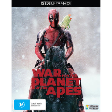 War for the Planet of the Apes - Deadpool Photobomb Edition