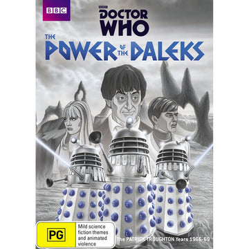 Doctor Who - The Power Of The Daleks (Black & White)
