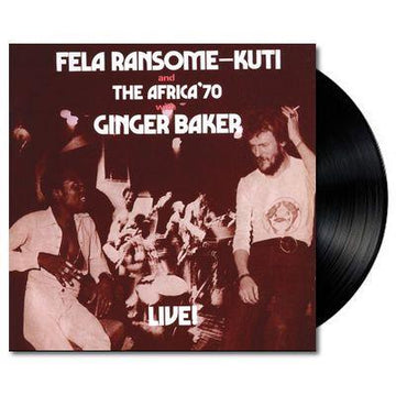 Live with Ginger Baker (Vinyl) (Reissue)