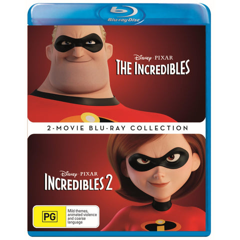 Incredibles, The - 2 Movie Collection