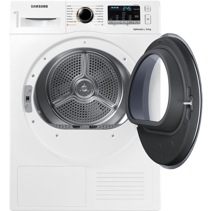 Samsung Dv80m5010qw 8kg Heat Pump Dryer Jb Hi Fi