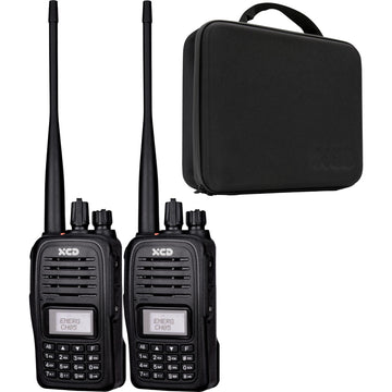 XCD 5W Handheld CB Radio Adventure Kit (Twin Pack)