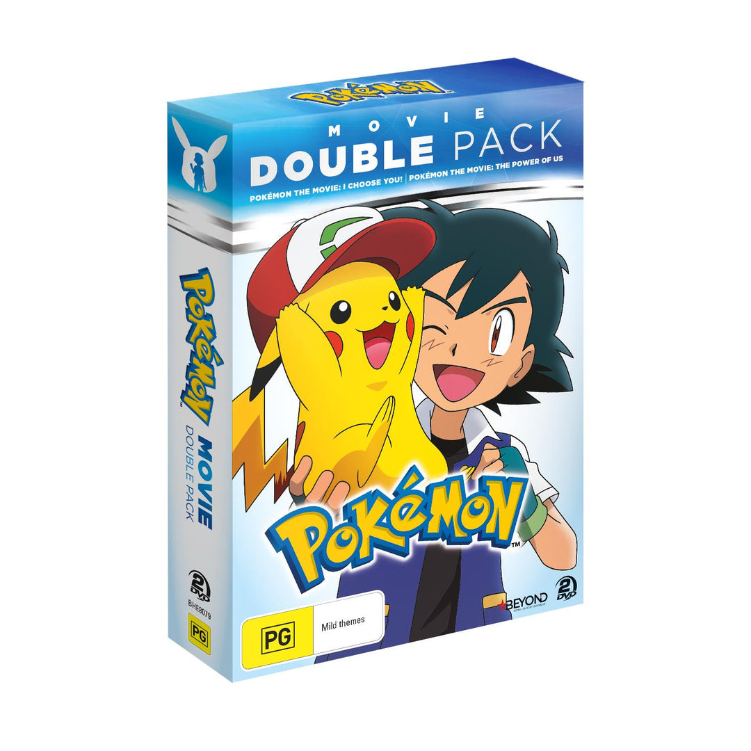 Pokemon Movie Double Pack - I Choose You! & The Power of Us