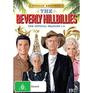 Beverley Hillbillies, The - Season 1-4