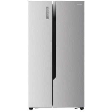 Hisense HR6SBSFF566S 566L Side by Side Fridge (S/Steel)