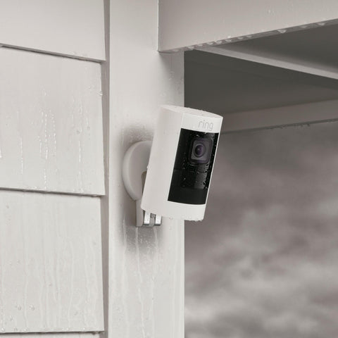 Ring Stick Up Cam Battery HD Security Camera (White)