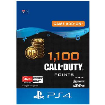 Call of Duty 1100 CP for Black Ops 4 (Digital Download)