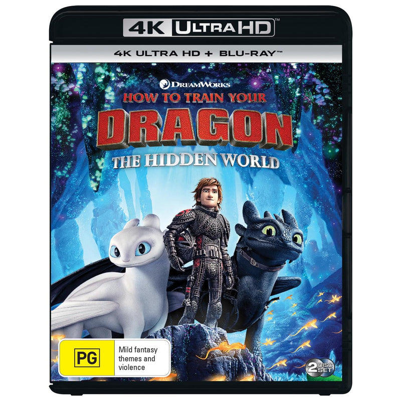 How To Train Your Dragon The Hidden World Jb Hi Fi