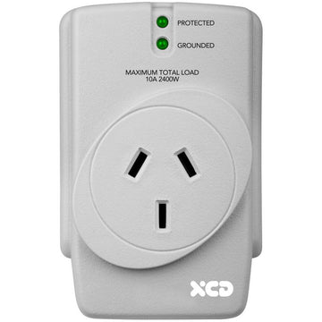 XCD Single Socket Surge Protector