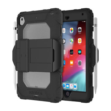 Griffin Survivor All-Terrain Case for iPad Mini 5 (2019) & iPad Mini 4 (Black)