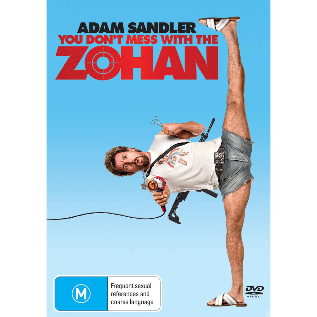 You Don T Mess With The Zohan Jb Hi Fi