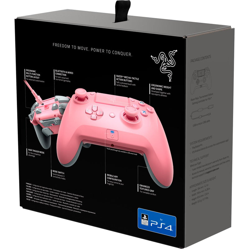Razer Raiju Tournament Edition Gaming Controller For Playstation 4 Quartz Edition Jb Hi Fi A wide variety of ps4 controller options are available to you, such as compatible platform. razer raiju tournament edition gaming