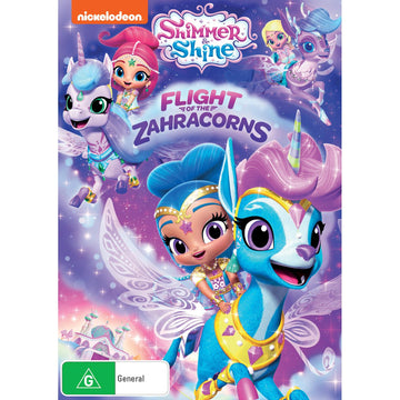 Shimmer & Shine: Flight of the Zahracorns