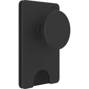 Popsockets Popwallet+ Swappable PopGrip (Black)