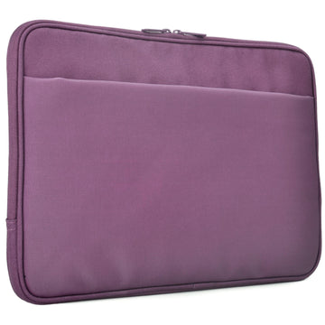 "Flea Market Coated Canvas 11"" Laptop Sleeve (Purple)"