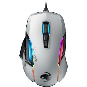 ROCCAT Kone AIMO RGB Gaming Mouse (White)